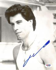 John Travolta Signed Authentic Autographed 8x10 Photo (PSA/DNA) #V87928