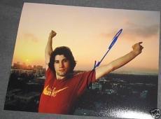 John Travolta Signed Autograph Young Stud 8x10 Photo E