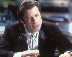 John Travolta Signed Autographed 11 x 14 Photo Pulp Fiction Online Authentics OA