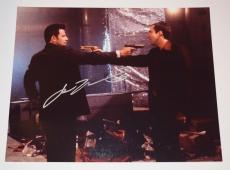 John Travolta Signed Autographed 11x14 Photo Face/Off COA VD