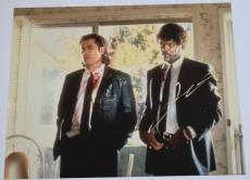 John Travolta Signed Autographed 11x14 Photo Pulp Fiction COA