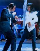 John Travolta Signed Autographed 11X14 Photo Pulp Fiction Dancing JSA U16561