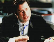 John Travolta signed autographed 11x14 photo! Pulp Fiction! Grease! PSA COA!