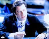 John Travolta Signed Autographed 11X14 Photo Pulp Fiction Vincent JSA U76373