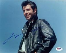 JOHN TRAVOLTA SIGNED AUTOGRAPHED 8x10 PHOTO DANNY ZUKO GREASE PSA/DNA