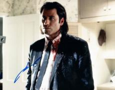 John Travolta Signed Autographed 8x10 Photo Grease Pulp Fiction COA VD