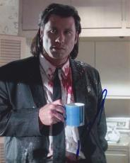 John Travolta Signed Autographed 8x10 Photo Pulp Fiction