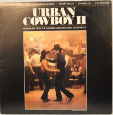 "JOHN TRAVOLTA Signed Autographed ""URBAN COWBOY II"" Album LP JSA #M46645"