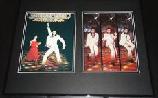 John Travolta Signed Framed 16x20 Photo Display Saturday Night Fever