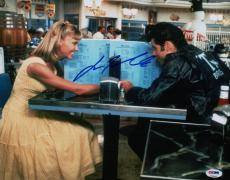 John Travolta Signed Grease 11x14 Photo Psa Coa V28808