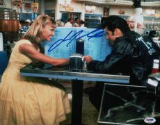 John Travolta Signed Grease 11x14 Photo Psa Coa V28809