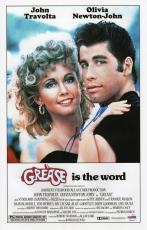John Travolta Signed Grease 11x17 Movie Poster Psa Coa V28818
