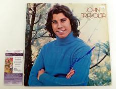 John Travolta Signed LP Record Album Self-Titled w/ JSA AUTO