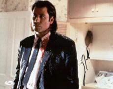 John Travolta Signed Pulp Fiction 11x14 Photo Authentic Autograph Jsa #h41898