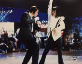 John Travolta Signed Pulp Fiction 11x14 Photo PSA AC45927