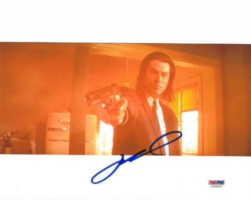 John Travolta Signed Pulp Fiction Authentic 8x10 Photo (PSA/DNA) #U26567