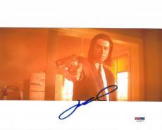 John Travolta Signed Pulp Fiction Authentic 8x10 Photo (PSA/DNA) #U26567