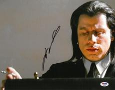 John Travolta Signed Pulp Fiction Autographed 11x14 Photo PSA/DNA #AB92567