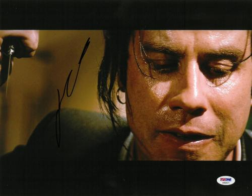 John Travolta Signed Pulp Fiction Autographed 11x14 Photo PSA/DNA #AB92571