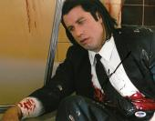 John Travolta Signed Pulp Fiction Autographed 11x14 Photo PSA/DNA #AB92572