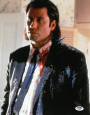 John Travolta Signed Pulp Fiction Autographed 11x14 Photo PSA/DNA #AC95206