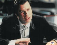 John Travolta Signed Pulp Fiction Autographed 11x14 Photo (PSA/DNA) #S23216