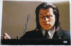 John Travolta Signed Pulp Fiction Autographed 12x18 Photo PSA/DNA #AB55746