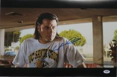 John Travolta Signed Pulp Fiction Autographed 12x18 Photo PSA/DNA #AB55748