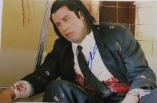 John Travolta Signed Pulp Fiction Autographed 12x18 Photo PSA/DNA #W20556