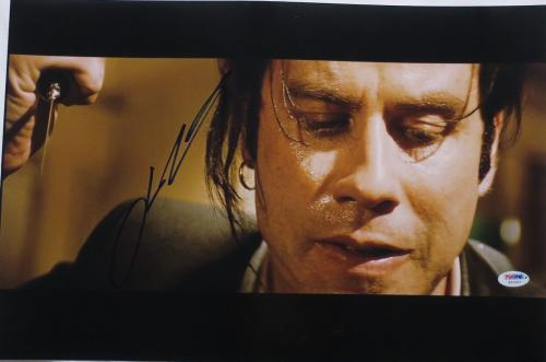 John Travolta Signed Pulp Fiction Autographed 12x18 Photo PSA/DNA #W20557