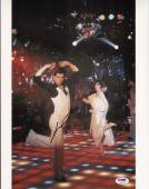 John Travolta Signed Saturday Night Fever 11x14 Photo PSA/DNA COA Picture Auto'd