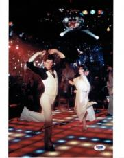 John Travolta Signed Saturday Night Fever Authentic 11x14 Photo PSA/DNA #W69075