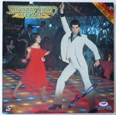 John Travolta Signed Saturday Night Fever Autographed Laser Disc PSA/DNA #V26595