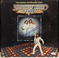 John Travolta Signed Saturday Night Fever Soundtrack Album Cover JSA  #J27179