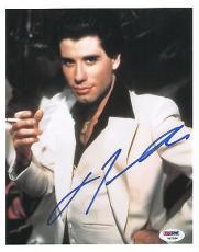 John Travolta Signed SNF Authentic Autographed 8x10 Photo (PSA/DNA) #V87924