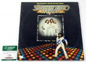 John Travolta Signed Soundtrack Record Album Saturday Night Fever w/ SGC AUTO