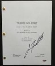 John Travolta Signed The People V Oj Simpson Pilot Script Full 60 Pages Psa Coa