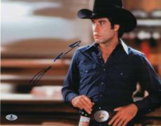 John Travolta Signed Urban Cowboy Autographed 11x14 Photo BECKETT #B10326