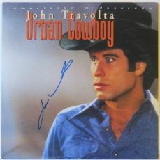 John Travolta Signed Urban Cowboy Autographed Laserdisc Cover PSA/DNA #AA78639