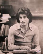 John Travolta Signed Welcome Back Kotter Autographed 11x14 Photo PSA/DNA #S20573