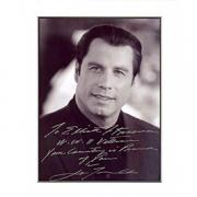 "John Travolta Autographed ""Swordfish"" Celebrity 8x10 Photo"