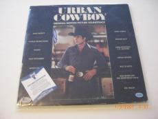 John Travolta Urban Cowboy,grease Actor Td/holo Signed Lp Record Album