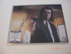 John Travolta Urban Cowboy,pulp Fiction Td/holo Signed 11x14 Photo