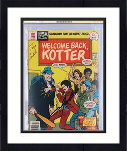 John Travolta Welcome Back Kotter Autographed Comic Book - CGC 5.5