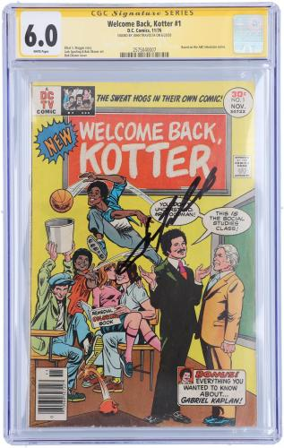 John Travolta Welcome Back Kotter Autographed Comic Book - CGC 6.0