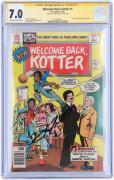 John Travolta Welcome Back Kotter Autographed Comic Book - CGC 7.0