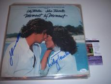 John Travolta,lily Tomlin Moment By Moment Jsa/coa Signed Lp Record Album