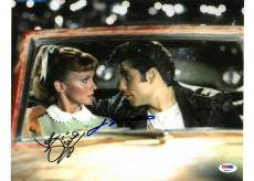 John Travolta/Olivia Newton-John Signed Grease Auto 10x14 Photo PSA/DNA #Q14171