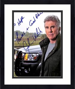 John Walsh America's Most Wanted Signed 8x10 Photo BAS #G45534