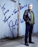 John Walsh America's Most Wanted Signed 8x10 Photo BAS #G45535